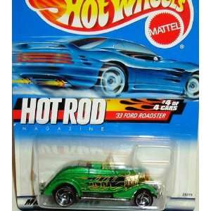 Hot Wheels 2000 Hot Rod Series 33 Ford Roadster #008  Toys & Games