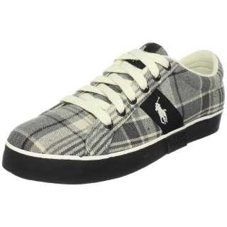 Polo Ralph Lauren Shoes Giles Madras Medium Gray Plaid Logo Design