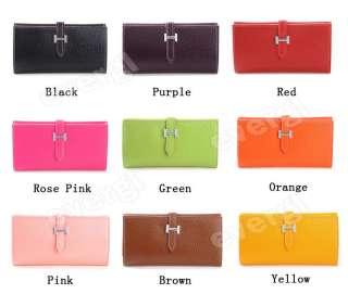 Women Long Wallet Clutch Purse Bag Card Case drew string sale