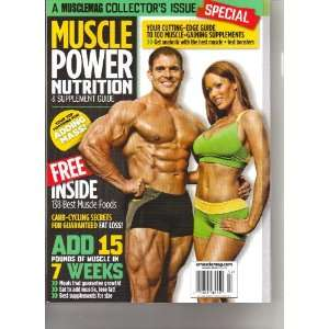 Muscle Power Nutrition & Supplement (Add 15 pounds of muscle