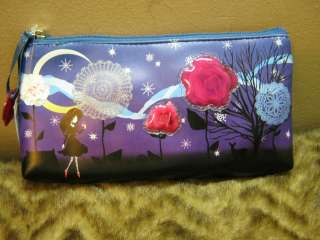 new Enchanted Fairy tail printed make up case pencil case organizer