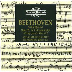 /String Quintet Op. 29 Beethoven, Medici String Quartet Music