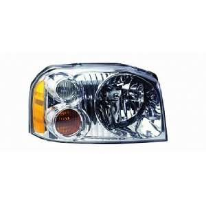 01 04 Nissan Frontier Pickup Headlight (Passenger Side) (2001 01 2002