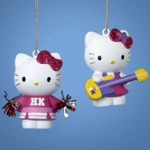 New   Club Pack of 24 Hello Kitty Cheerleader and Rock
