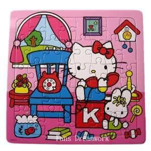 Hello Kitty Puzzle toys 42pcs Toys & Games