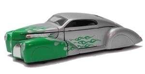 Phoenix Metallic Team Custom 1937 Lincoln Zephyr Hot Rod 143 5 1/2