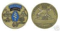 SPECIAL FORCES GREEN BERET AIRBORNE CHALLENGE COIN