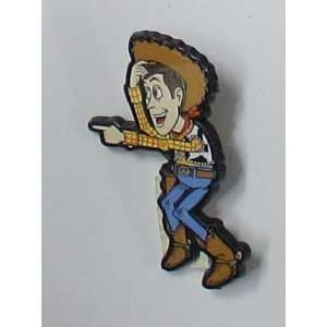 Vintage Disney Pin (Plastic) Toy Story Woody Pointing