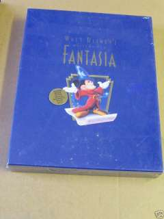 Walt Disney Mickey Mouse Fantasia Video Limited Edition