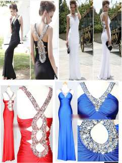 Party Evening Gown Dress Dress Bridal Bridesmaid Braces Sequin Floor