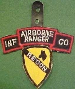 Cav Div Recon Airborne Ranger Inf Co Patch