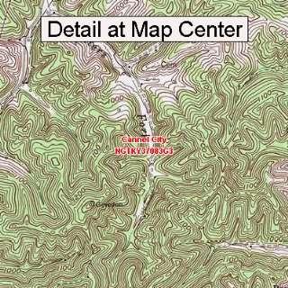 Map   Cannel City, Kentucky (Folded/Waterproof)