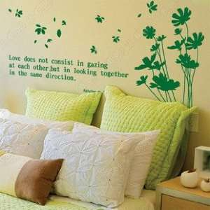 Wall Decor Removable Decal Sticker   Dandelion in the Wind