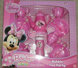 Disney Mickey Mouse Clubhouse Minnie Mouse Bow tique Bubble Tea Party