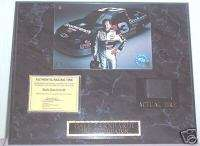 Dale Earnhardt GOODWRENCH USED TIRE PLAQUE PHOTO W/COA