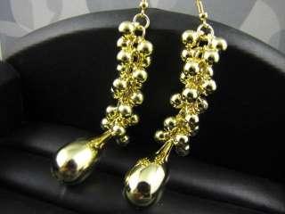 Fashion Gold Tone Dangle Earrings ME389