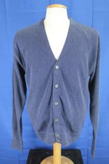 Cypress Links Golf Dark Blue Cardigan Sweater Medium