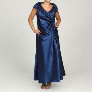 Jessica Howard Womens Plus Size Navy Collar Dress  Overstock