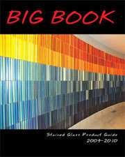 2009   2010 STAINED GLASS & HOT GLASS BIG BOOK CATALOG