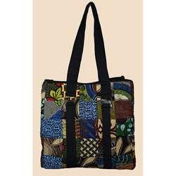 Fabric Patchwork Large Original Tote Bag (Kenya)