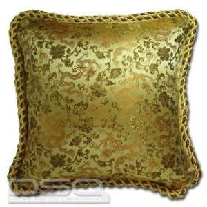 14 Silk Embroidery Cushion Pillow Cover   Dragon
