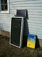 Solar Air Heater Unit Heating Panel System kit 2000btu