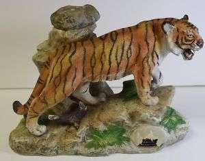 1979 Ezra Brooks Decanter Tiger Big Cat Very Nice