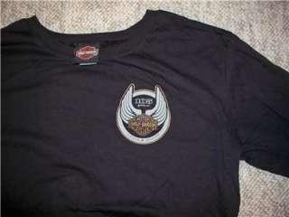 NEW Womens XL Harley Davidson 105th Anniversary Long Sleeve T Shirt