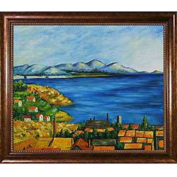 Paul Cezanne The Gulf Marseilles Oil Painting Canvas  Overstock