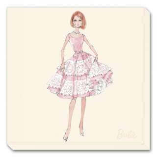 Barbie™, Southern Charm Stretched Canvas Print by Robert Best at