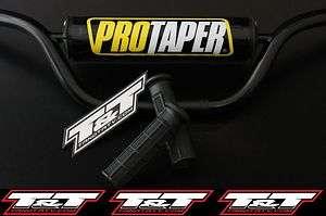 yamaha blaster atv handlebars pro taper pad protaper grips free glue