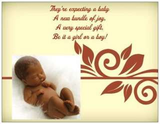20 AFRICAN American Baby Shower INVITATIONS Post Cards