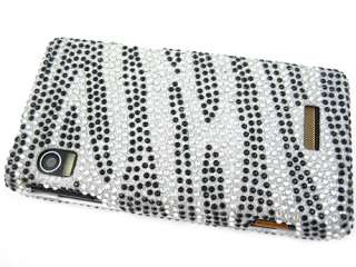 RHINESTONE CRYSTAL BLING CASE COVER MOTOROLA DROID 2