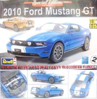 REVELL 2010 FORD MUSTANG GT MODEL KIT 1/25 854272