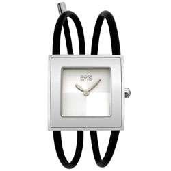 Hugo Boss Womens Swing Rubber Watch