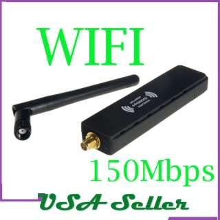 Newest 1000mW 1W Wireless G WiFi USB Adapter +Antenna