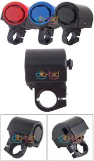 Electronic Bicycle Bike Alarm LED Loud Bell w/ Battery