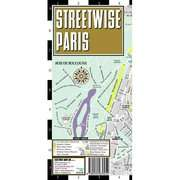 Streetwise Paris Map   Laminated City Street Map of Paris, France