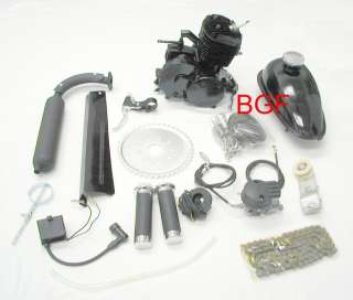 bicycle Motorized GAS ENGINE KIT 49cc centrifugal black slant head