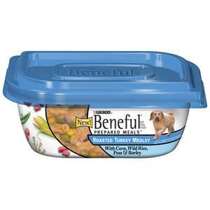 Meals Prepared Meals Roasted Turkey Medley Dog Food Wet, 10 Oz Dogs
