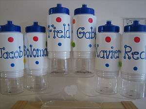 PERSONALIZED KIDS PARTY FAVOR WATER BOTTLE BIRTHDAY