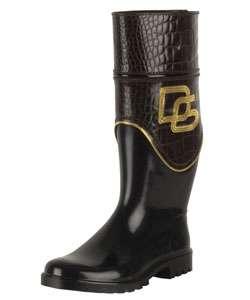 Dolce & Gabbana Logo Rain Boots