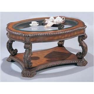 Wildon Home Azusa Coffee Table in Brown Furniture