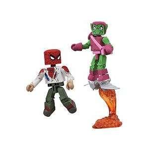 Marvel MiniMates Action Figures   Unmasked Spiderman