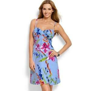 Tommy Bahama Fiori di Mare Dress with Center Tab Womens