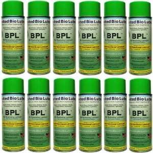 BPL   Bio Penetrating Lubricant w/ Bio Corrosion Inhibitors, 1 Case
