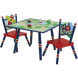 Gettin Around Kids Table and Chairs Set