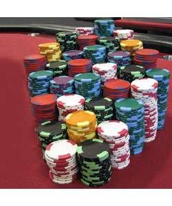 1000 Nexgen Las Vegas Edge Spot Poker Chips