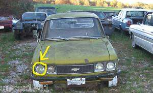 1974 CHEVY LUV TRUCK HEADLIGHT BULB PROJECT PARTS MIKADO MORE |