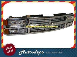 94 95 96 CHEVY C/K PICKUP 1500 GRILLE HEADLIGHT SIGNAL